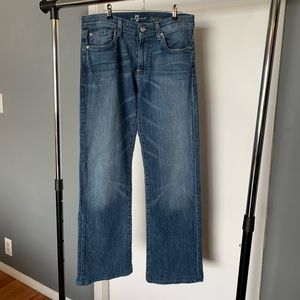 like new 7 For All Mankind 'Bootcut' denim jeans